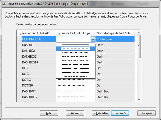 importer un pdf sur autocad