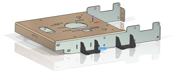 Copier ou déplacer des composants Solid Edge avec le compas