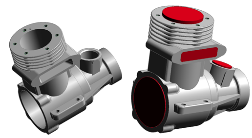 Comment remplir des cavités pour obtenir un moule - Solid Edge Technologie Synchrone
