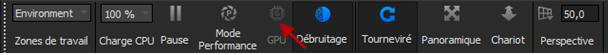Passage du mode CPU au mode GPU Nouveautés 2021 Keyshot